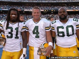 Aaron Rodgers' memorable photobombs is from the 2012