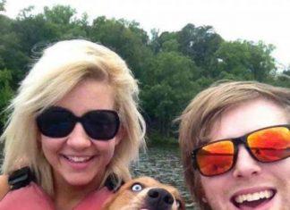 image of a dog photobomb
